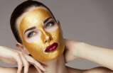 Evde kendi altın maskenizi kendiniz yapın!