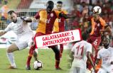 Galatasaray Antalya'yı devirdi