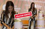 Hazal Kaya'yı Antalya'da ağlatan kutlama