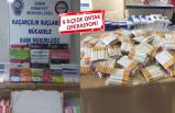 İzmir'de 2 bin 100 paket kaçak sigara ele geçirildi
