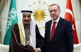 Kral Selman, Cumhurbaşkanı Erdoğan'ı aradı