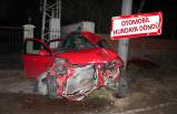 Ödemiş'te feci kaza! 1'i ağır, 3 kişi yaralandı