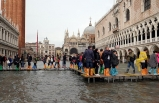 Venedik'te büyük sel baskını!