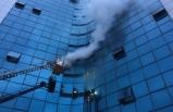 17 katlı iş merkezinde yangın!