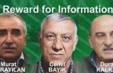 3 PKK'lı teröristin başına 12 milyon dolar ödül koydu