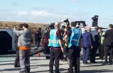 Atatürk Havalimanı apronunda kaza: 10 yaralı