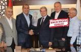 İYİ Parti'de Çıray'dan Kırkpınar'a tebrik ziyareti