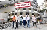İzmir'de otoparktan çok daha fazlası: Seyir terası, oturma alanları...