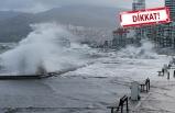 İzmir'e şiddetli yağmur ve fırtına geliyor