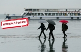 İzmir ve Ege Bölgesi için kuvvetli yağış uyarısı