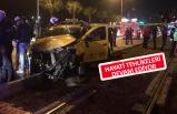 İzmir'de trafik kazası: 1'i ağır 4 yaralı