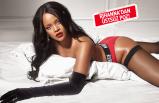 Rihanna iç çamaşırı modelliği yaptı