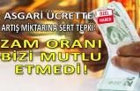 Asgari ücret rakamına DİSK'ten sert tepki!