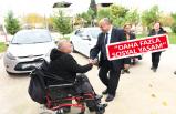 Başkan Hasan Arslan engellilerin davetlisi