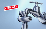 Çiğli 'nin üç mahallesinde su kesintisi