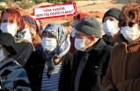 Germiyan'da beyaz maskeli taş ocağı tepkisi