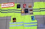 İzmir'de DEAŞ operasyonunda sarı yelekler ele geçirildi