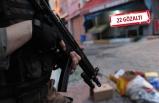İzmir'de, yılbaşı öncesi terör örgütlerine darbe