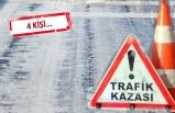 İzmir'in 'buz' raporu: 2 kamyonet, 4 otomobil...