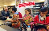 Kütüphanede 1000 üye sevinci