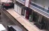 Otomobilinin arkasına atı bağlayan sürücüye ceza
