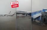Antalya Havalimanı'ndan inanılmaz görüntüler