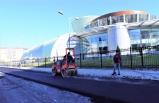 Bornova ulaşımı rahatlıyor: 110 ton asfalt!