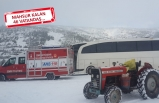 Büyükşehir'den nefes kesen 'kar' operasyonu