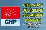 CHP aday belirleme mesaisine başladı