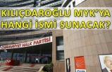 CHP'de kritik MYK başladı! Kılıçdaroğlu cebinde hangi isimle girdi?