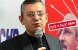 CHP'li Özel: İzmir adayımız...