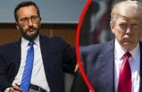 Cumhurbaşkanlığı'ndan Trump'a yanıt