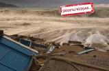 Fethiye'de 5 metrelik dalgalar sahili yıktı geçti!