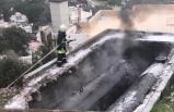 Fuel oil yakıt tankında yangın çıktı