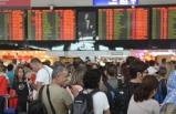 Havalimanlarında tatil yoğunluğu