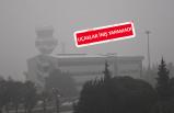 İzmir'de sis hava ulaşımını olumsuz etkiledi
