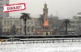 İzmir'e kar geliyor