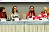 Kadın gazeteciler Bornova'da