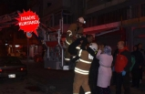 Kahramanlar'da apartman dairesi yandı: İçinde 15 kişi vardı!