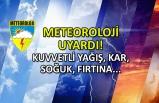 Meteoroloji'den uyarı! Kuvvetli yağış, soğuk, kar...
