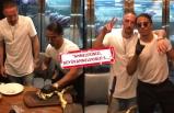 Nusret'te altın antrikot yiyen Ribery çıldırdı