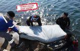 Bodrum'da denizden yatak da çıktı halı da