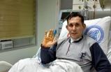 Grip nedeniyle hastanelik oldu, ölümden döndü
