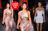 Kim Kardashian'ın ilginç tarzı