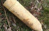 Ağaç dikiminde Kurtuluş Savaşı'ndan kalma top mermisi buldular