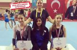 Bornovalı cimnastikçilerden 3 madalya daha