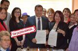 CHP'li Batur'dan, kadınlara hem söz, hem imza