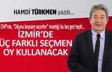 """""""İzmir'de üç farklı seçmen oy kullanacak"""""""
