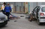 Kocaeli'de feci kaza: Metrelerce sürüklendi!