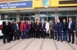 Selvitopu'ndan, İzmir Şoförler Odası'na ziyaret